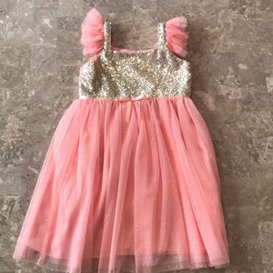Popatu Pink Tulle Dress